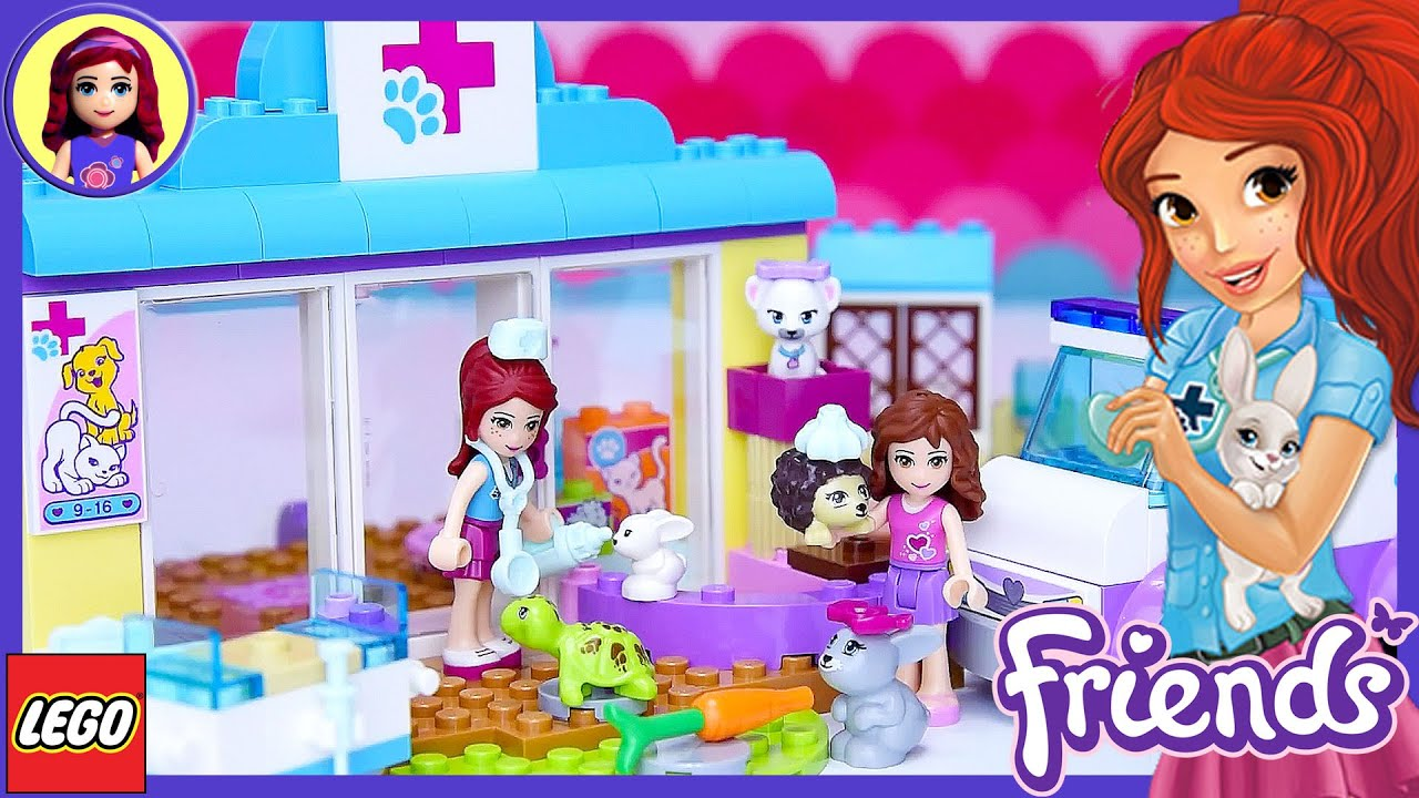Lego Friends Juniors Mia's Vet Clinic Build Review Silly ...