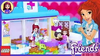 Lego Friends Juniors Mia's Vet Clinic Build Review Silly Play - Kids Toys