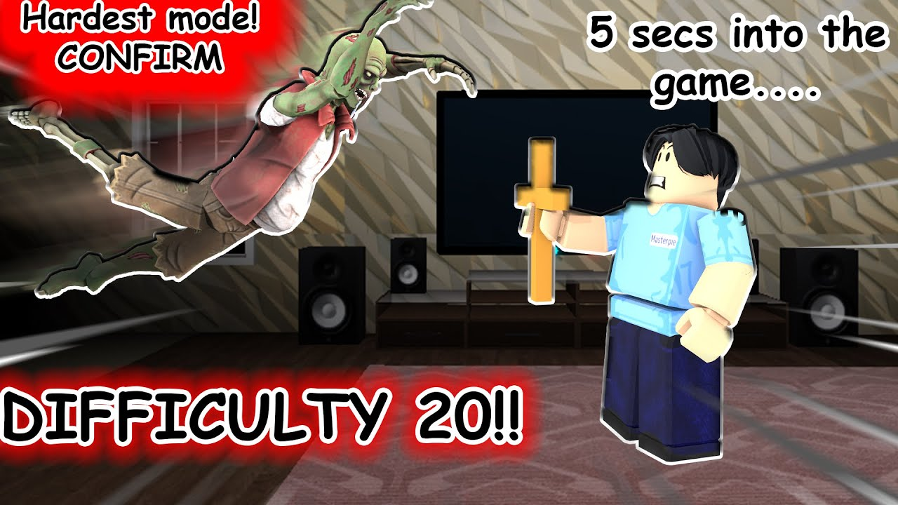 Download LEVEL DIFFICULTY 20! (NEW HARDCORE MODE)   Phasmophobia Paranormica   Roblox