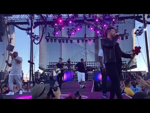 Dan + Shay + Boyz II Men - I'll Make Love To You (Live In Vegas)
