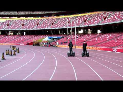 Segway around Beijing Olympic Stadium