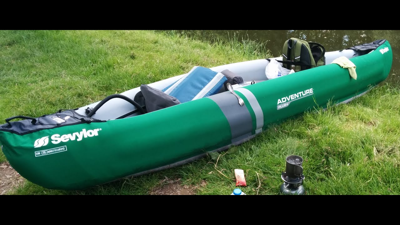 canoe gonflable sevylor adventure