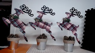 Dollar Tree DIY Rustic Christmas Reindeer