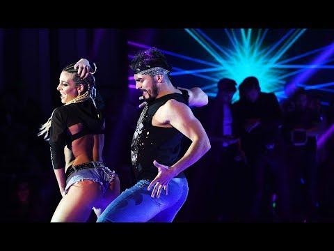 Se prendió fue el estudio: Sol Pérez bailando reggaeton  dejó a todos con la boca abierta