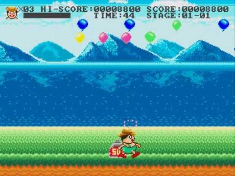 Funny World & Balloon Boy USA SEGA MEGADRIVE GENESIS HYPERSPIN NOT MINE  VIDEOSUnl