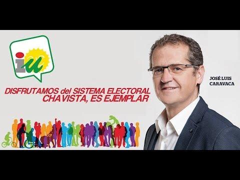 Politico Español (IU/Podemos) *ENCANTADO* con el Sistema Fraudelectoral Chavista.-