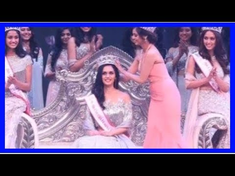 Pakistan media on India: India manushi chhillar crowned Miss world in 2017