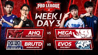 RoV Pro League Season 4 | Week 1 Day 3