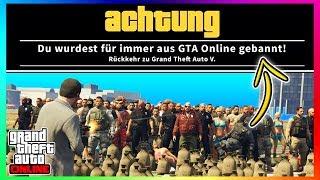 5 WEGE UM IN GTA 5 ONLINE GEBANNT ZU WERDEN! | GTA V