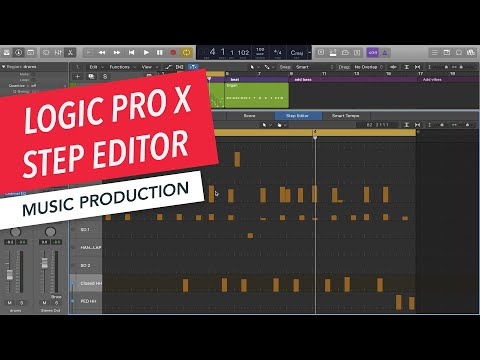 Editing MIDI with Step Editor | Logic Pro X  Basics | Music Production