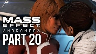 MASS EFFECT ANDROMEDA Walkthrough Part 20 - SUVI KISS (Female) Full Game