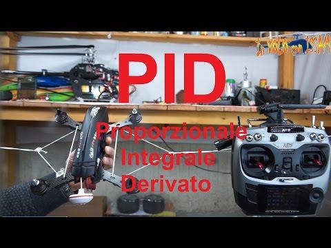 """PID - Il comportamento di un multirotore alla variazione di """"P"""" """"I"""" """"D"""""""