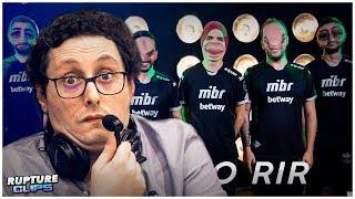 """ZORLAK REACT - """"TENTE NÃO RIR COM JOGADORES DA MIBR"""""""
