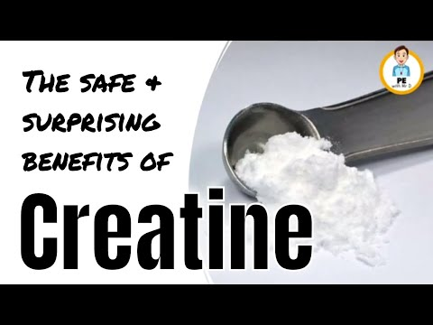 Creatine explained | Get bigger and stronger! Safe Sports Supplement Series Part 3/4 (18+)