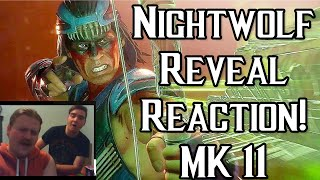 Nightwolf Revealed! Gameplay Trailer Reaction and Impressions! [Mortal Kombat 11]