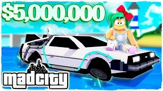 BUY THE MOST EXPENSIVE CAR OF MAD CITY IN ROBLOX!