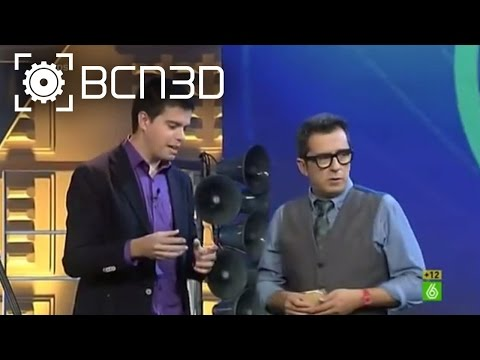 "BCN3D Interviews - BCN3D Technologies ""En el aire"" with Buenafuente"