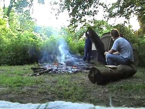 The Forrest: Camping in Cayuga, In June 2007