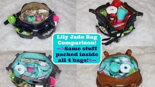 Download Video Lily Jade bag comparison (Elizabeth, Shaylee, Madeline, and Rosie) MP3 3GP MP4