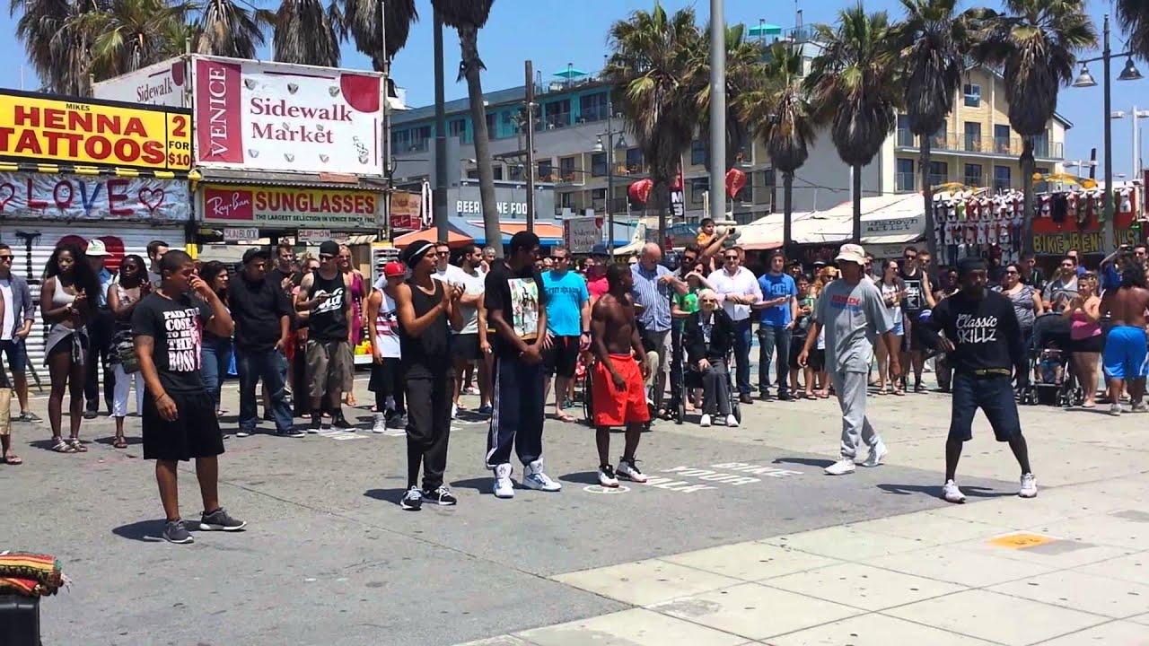 B Boy Street Performers Venice Beach Ca