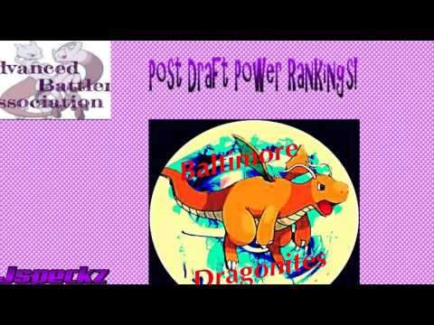 ABA post draft power rankings with Jspeckz and RGtheAwesome