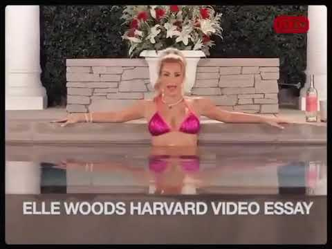 Kim Kardashian As Elle Woods From Legally Blonde