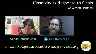 Creativity in a time of crisis with artist Weeda Hamdan | Finish the Day | Episode 28 (Earth Day)