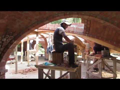 Тонкий кирпичный свод, как его строят