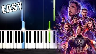 Baixar Avengers: Endgame- Portals - EASY Piano Tutorial by PlutaX
