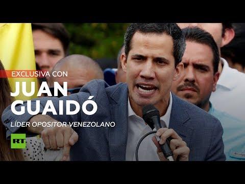 EXCLUSIVA: El líder opositor venezolano Juan Guaidó concede una entrevista a RT