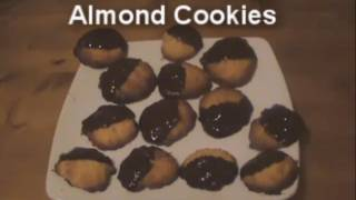 Chocolate Orange Almond Cookies - Myvirginkitchen
