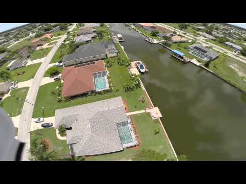 Pool fly-by Cape Coral