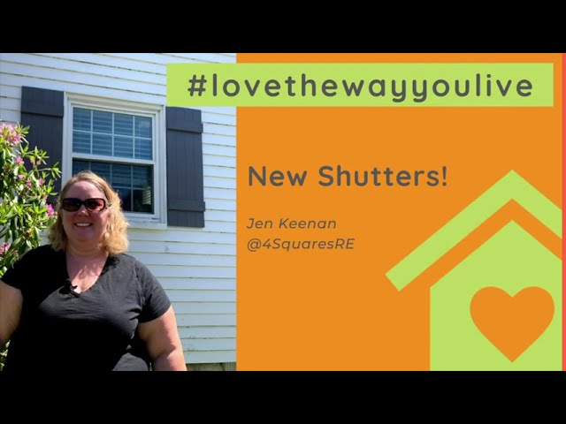Shutters | Love the Way You Live