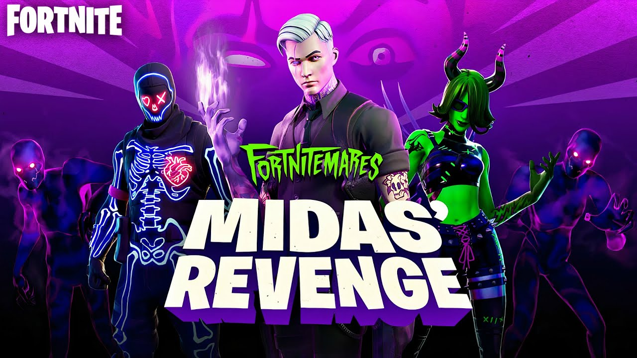 Fortnitemares Midas' Revenge Update Gameplay! (Fortnite Fortnitemares 2020)