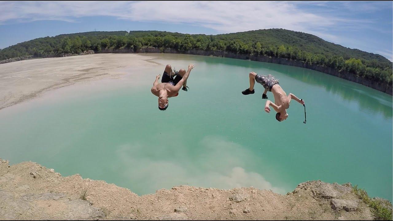 Peebles Ohio Cliff Jumping Day 1
