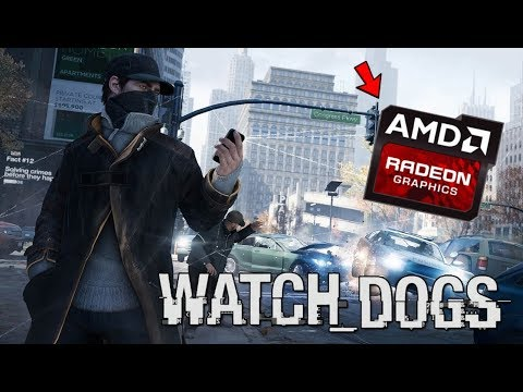 Watch Dogs - Gameplay On Low End PC (AMD A6, Radeon R4 Graphics)