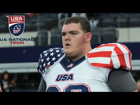 7-foot, 440-pound John Krahn scores rushing TD for U.S. National Team