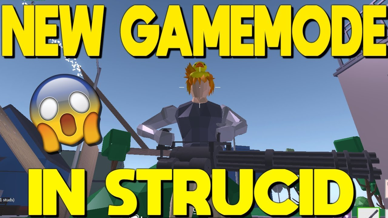 NEW Game Mode OUT In Strucid... *INSANE - YouTube