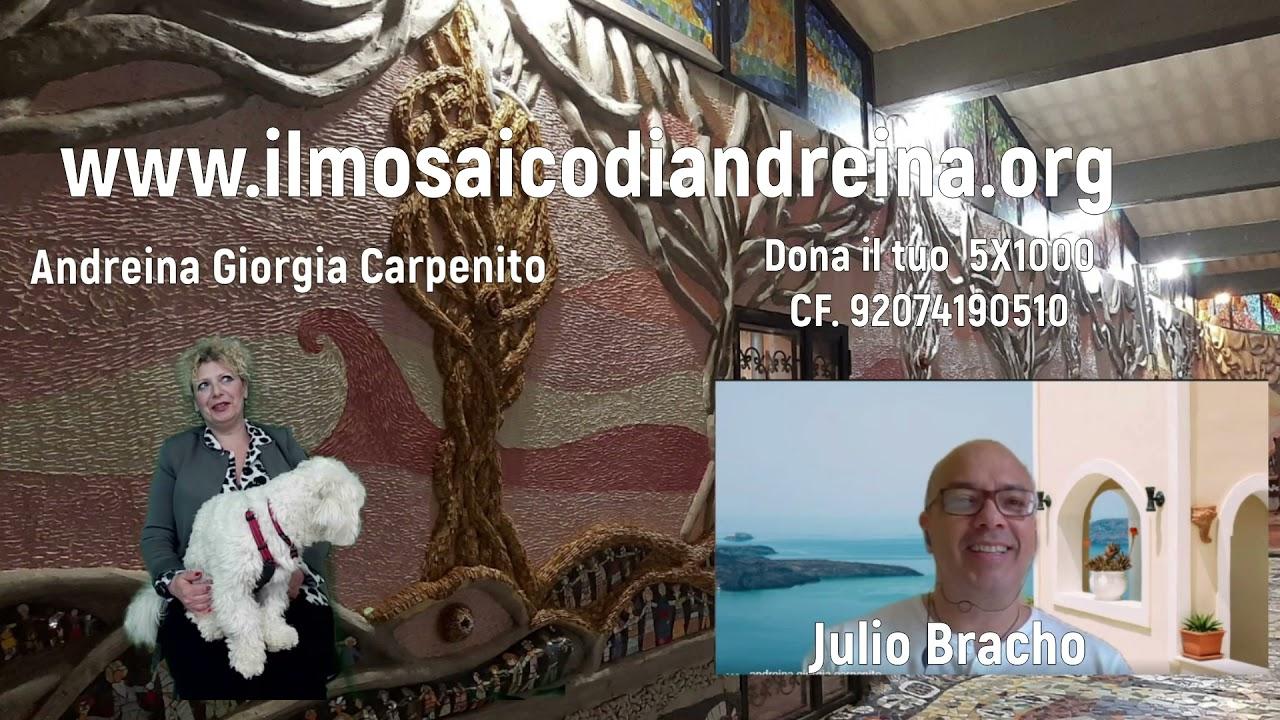 Storie del mosaico: Julio architetto venezuelano arrivato dalla Spagna