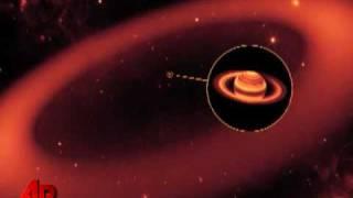 NASA Discovers Giant Ring Around Saturn