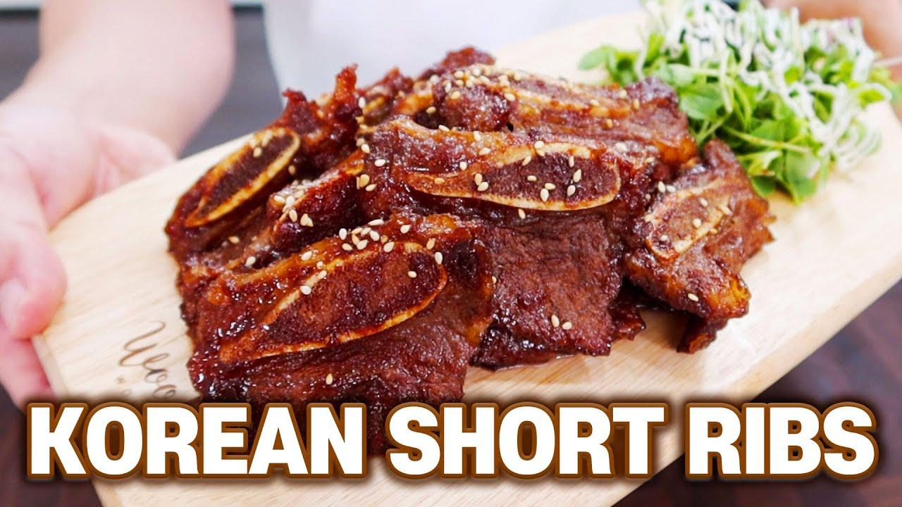 Korean Style Beef Short Ribs Recipe a.k.a LA GALBI BBQ