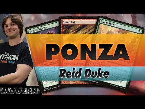 Red-Green Ponza - Modern | Channel Reid