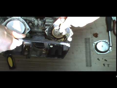 Honda V30 Magna VF500c carburetor cleaning on
