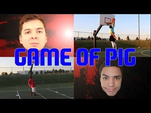 NASTY MILK FORFEIT! IRL PIG BASKETBALL GAME VS TD