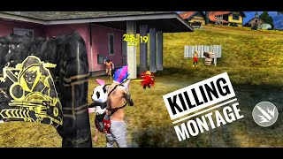 [FREE FIRE HIGHLIGHTS] BEST KILLING MONTAGE ?? MP40 POWER 🔥🔥