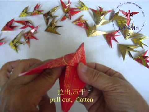 Origami angel fish 天使鱼