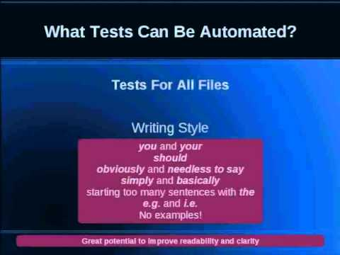 Automated Documentation Proofreading
