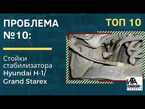 Проблема №10: Стойки стабилизатора Hyundai H-1/ Grand Starex