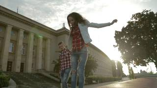 Love story Evelina & Yuriy in Wroclav | Відеозйомка Польща