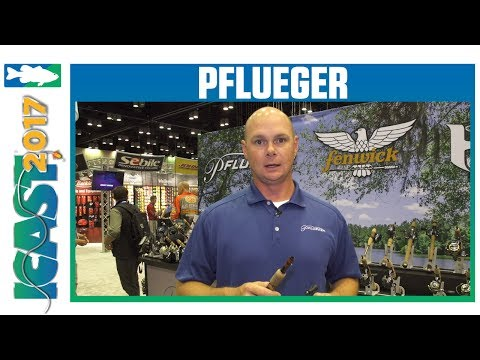 Pflueger President Spinning Reels With Larry Tankersley | ICAST 2017